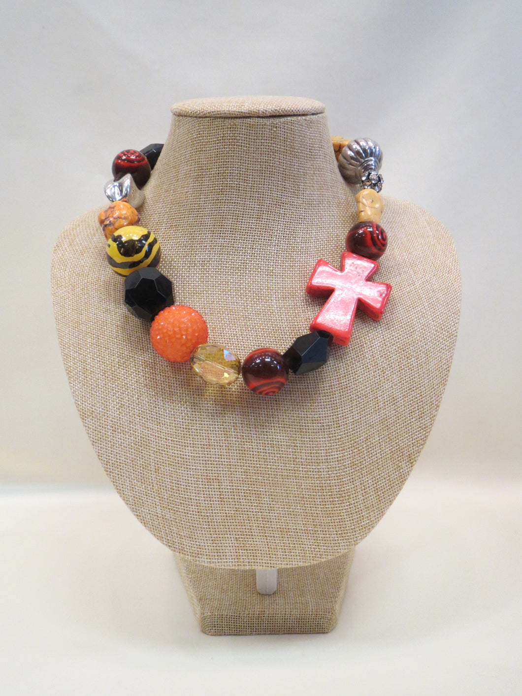 ADO | Short Chunky Beaded Necklace - All Decd Out
