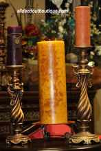 Pillar Candle Holder | Decorative Gold/Bronze - All Decd Out