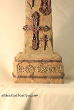 "Table Decor | 7"" x 12"" Glorify the Lord Cross - All Decd Out"
