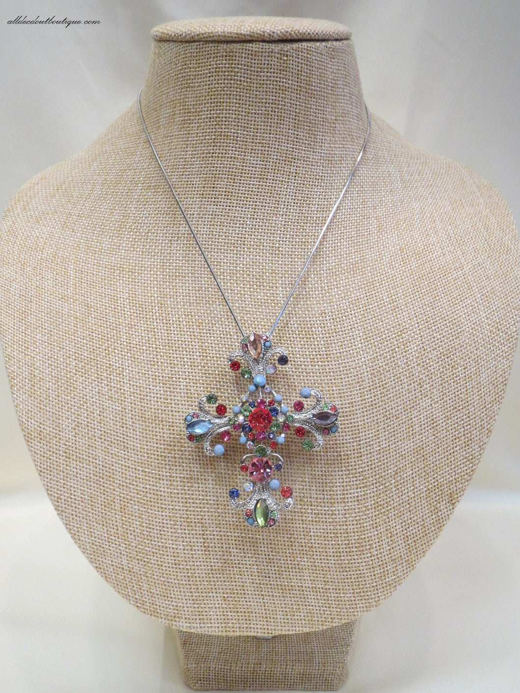 ADO | Necklace with Removable Cross Pendant - All Decd Out