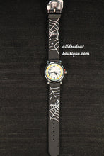 Black/White Spider & Web | Silicone Band - All Decd Out
