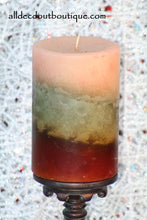 "Pillar Candle | American-Candle Co. ""Line Dry Breeze"" - All Decd Out"