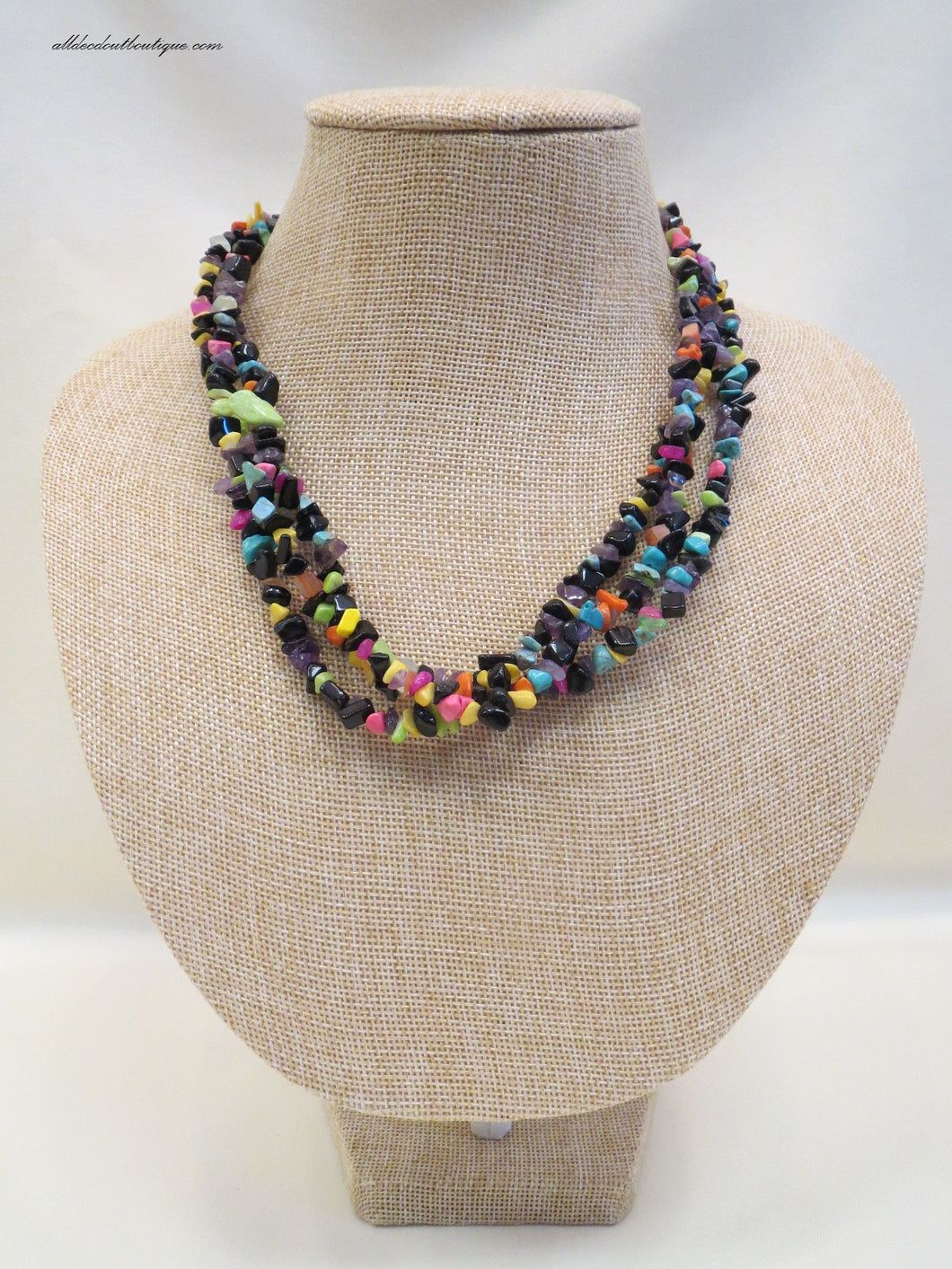 ADO | Necklace with Multicolored Beads - All Decd Out