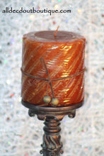 Pillar Candle | Cinnamon Bark Decorative Scented Candle - All Decd Out