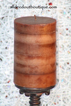 Pillar Candle | Cinnamon Multi Color Decor Candle - All Decd Out