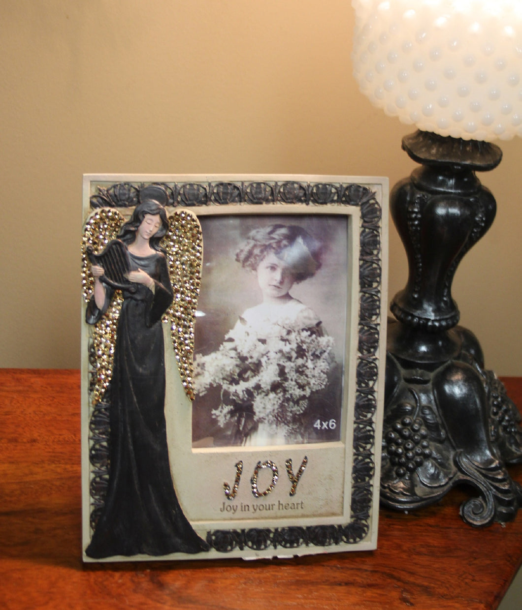 Decorative Picture Frame | 4 x 6 Embellished - All Decd Out
