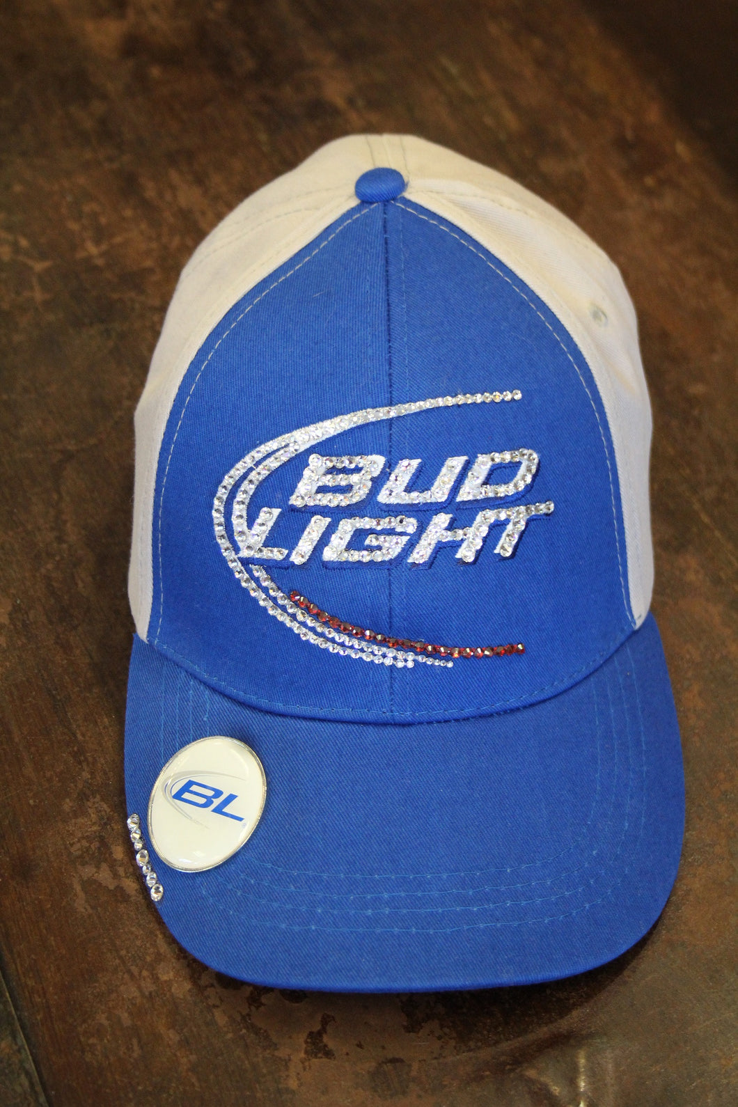 Bud Light | Embellished Blue/Grey Ball Cap ... Amazing Pictures