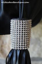 ADO | Drawstring Leatherette Purse with Bling Tassels - All Decd Out
