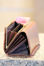 ADO | Genuine Leather Trifold Clutch Wallet Brown - All Decd Out