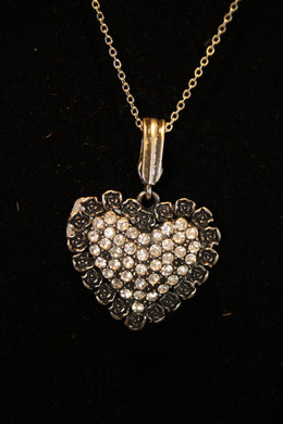 ADO | Embellished Heart Pendant - All Decd Out