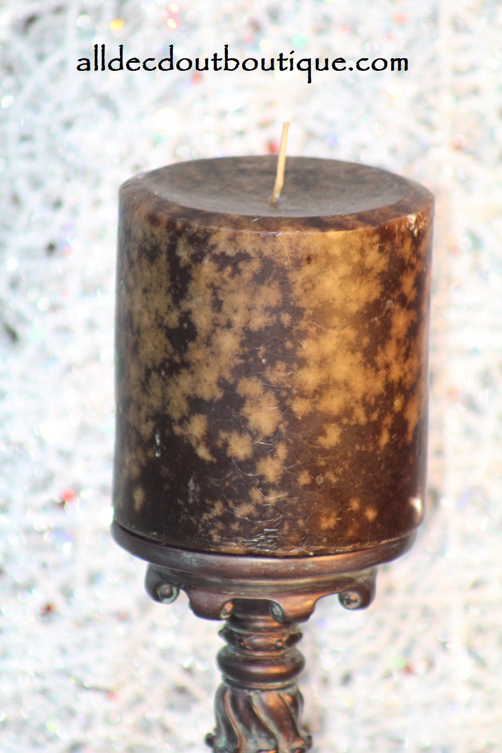 Pillar Candle | Sandalwood Scented Decor Candle