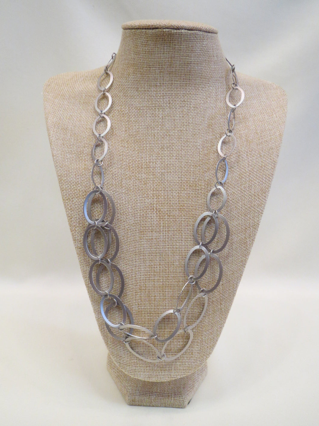 ADO Silver Chain Layer Necklace | All Dec'd Out