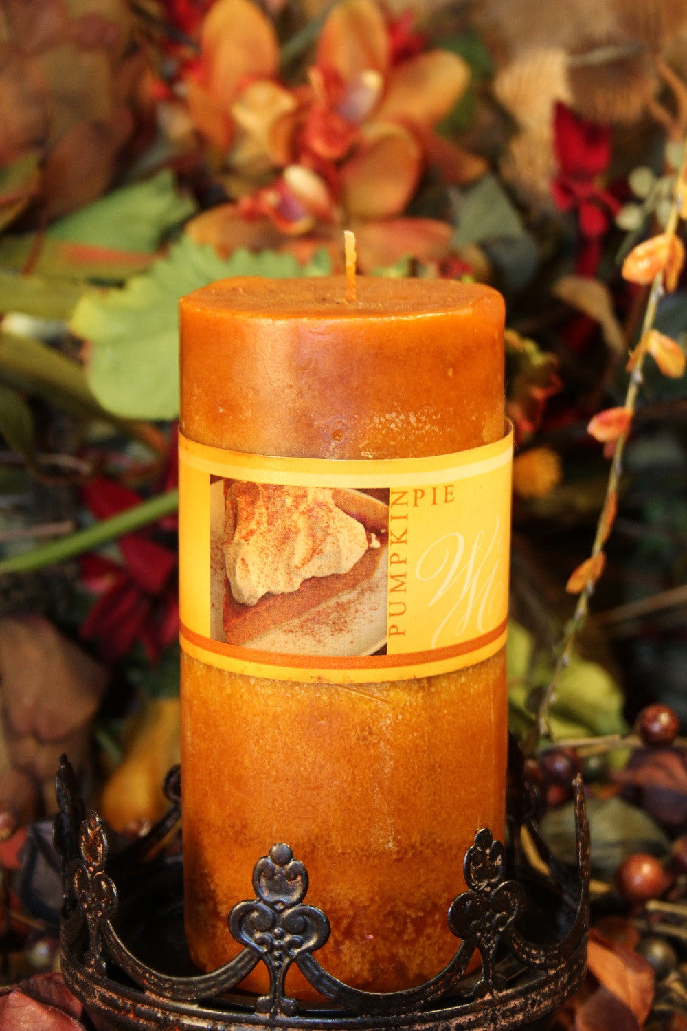 Pillar Candle | Wicks n' More 6x3 Pumpkin Pie Scented Candle