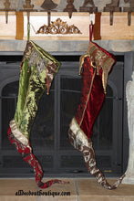 designer christmas stockings