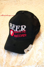 ADO | Embellished Bee Makes Me Awesomer Ball Cap - All Decd Out