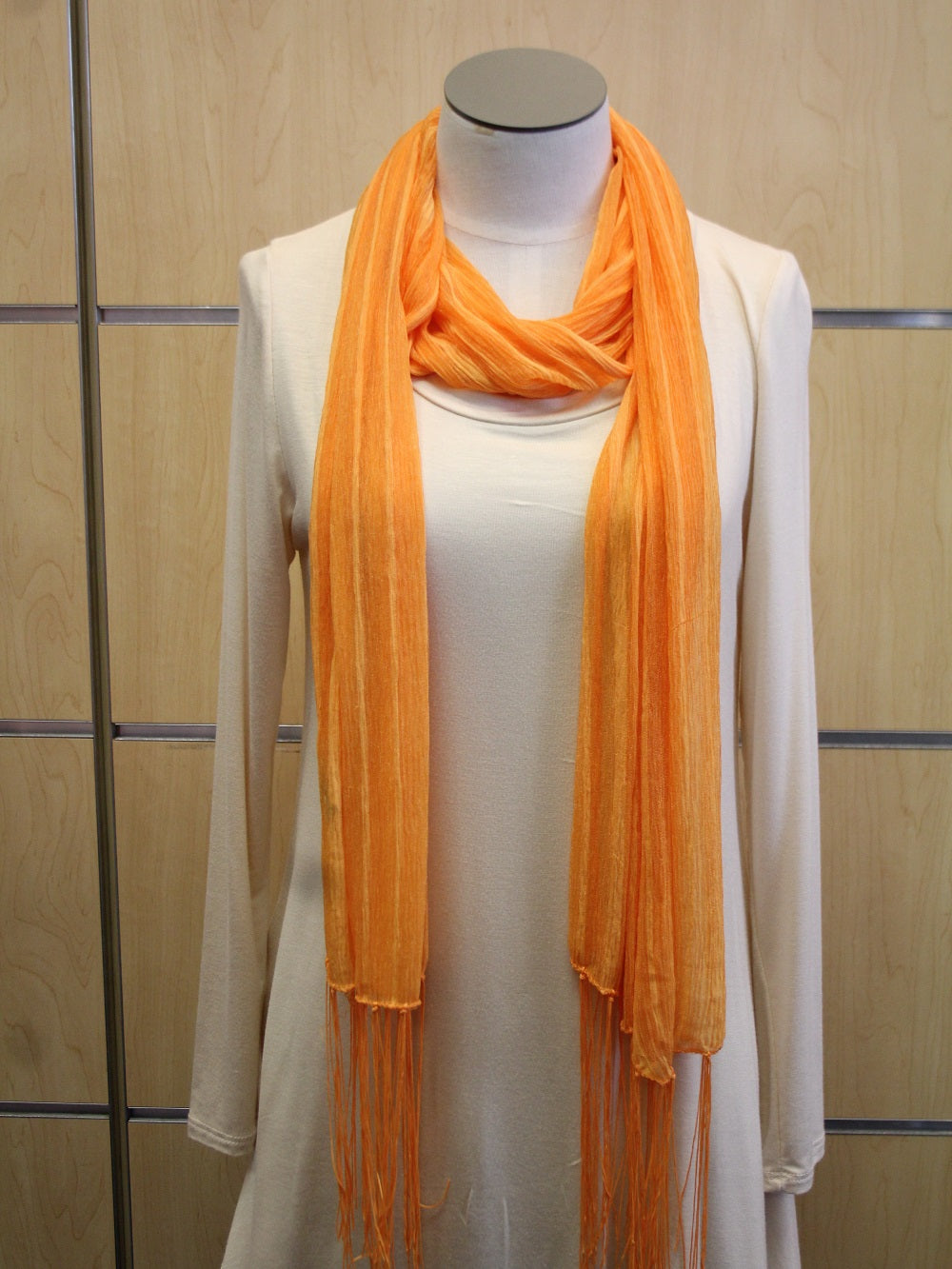 ADO | Wrap Bright Orange Scarf