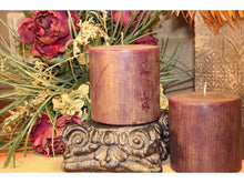 Pillar Candle | 4x4 Wildberry Pillar Scented Decor Candle - All Decd Out