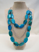 ADO Turquoise Beads Silver Chain Necklace | All Dec'd Out