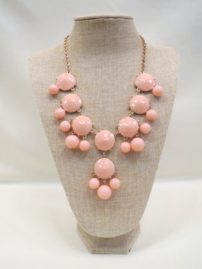 ADO | Bubble Necklace Peach - All Decd Out