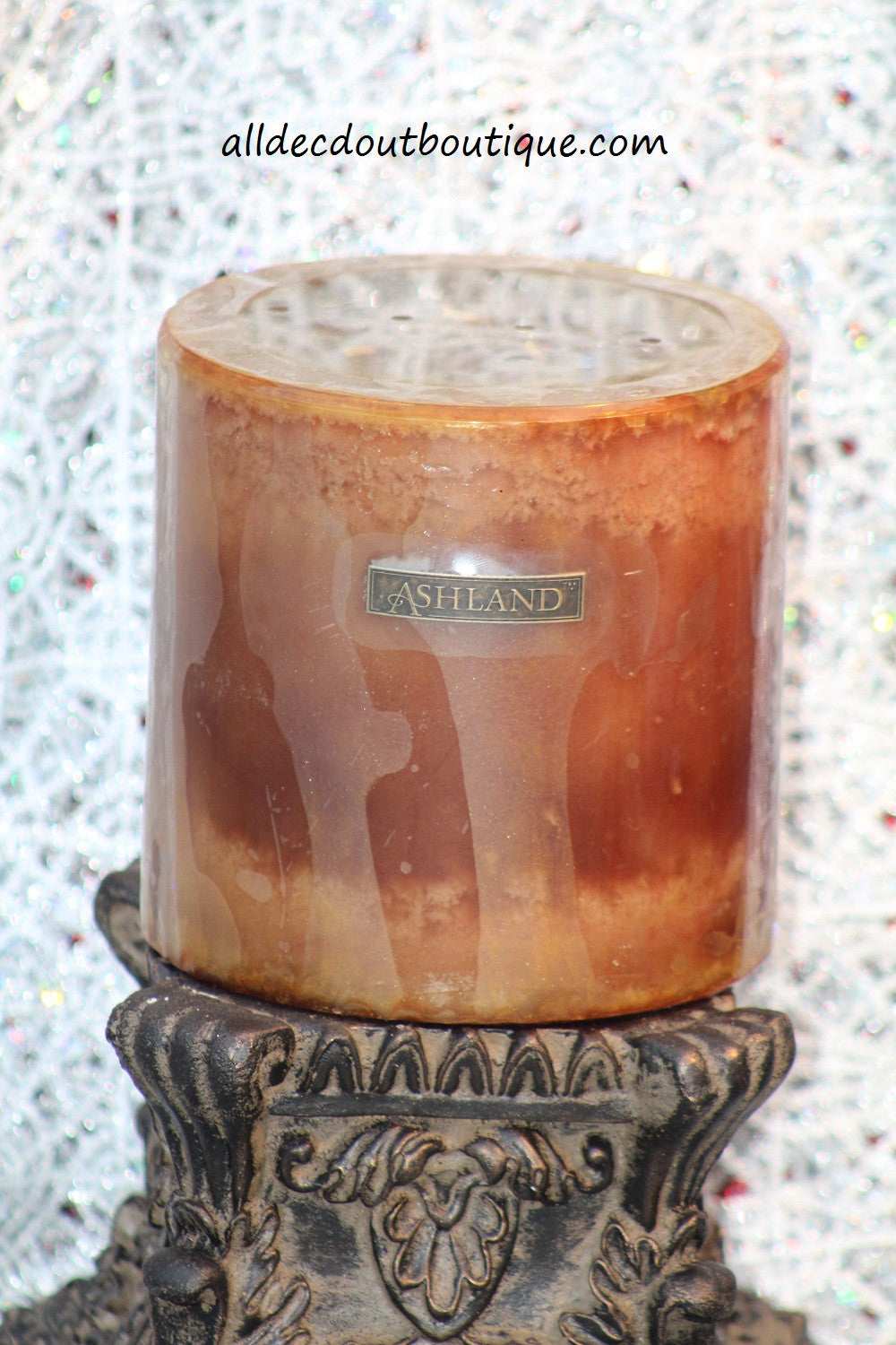 Pillar Candle | 6 x 6 Vanilla - All Decd Out