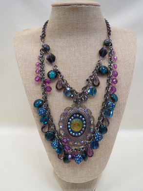 Treska Peacock Collection Necklace | All Dec'd Out