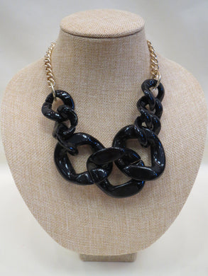 ADO Black & Gold Chain Necklace | All Dec'd Out