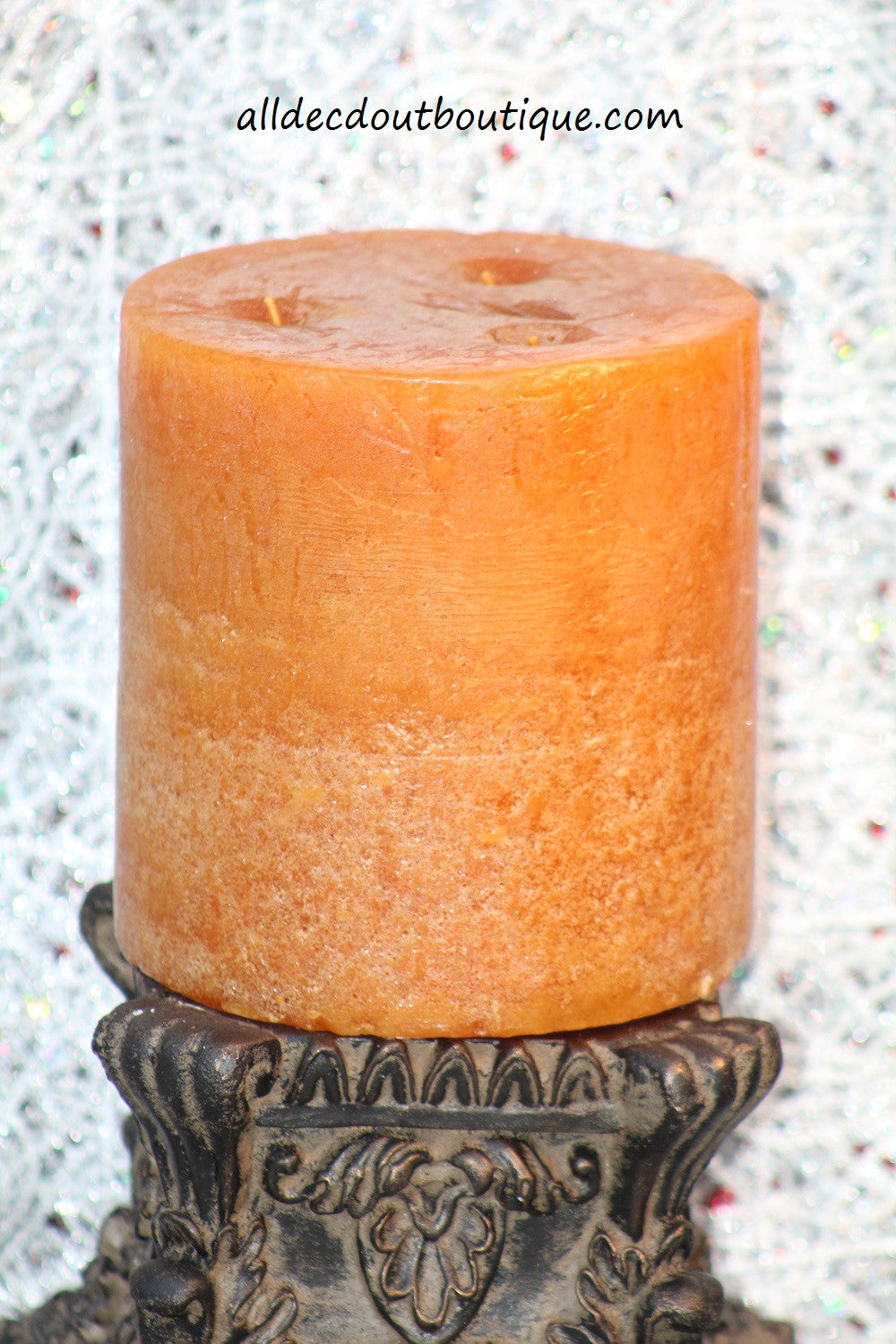 Pillar Candle 6 x 6 Toasted Spice