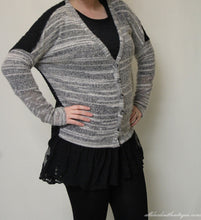 A'reve | Lace button Sweater Cardigan - All Decd Out