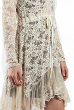A'reve | Lace Jacket Taupe - All Decd Out