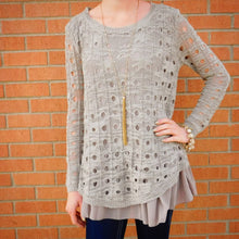 A'reve | Cut Out Sweater Cocoa - All Decd Out