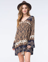 Blu Pepper Navy Boho Tunic Dress | All Dec'd Out