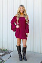 Blu Pepper | Burgundy Tunic Dress - All Decd Out