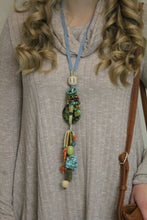 Treska Long Beaded Tassel Necklace | All Dec'd Out