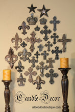 "Decorative Candle Pin | ""Blank"" Extra Large Fleur De Lis - All Decd Out"