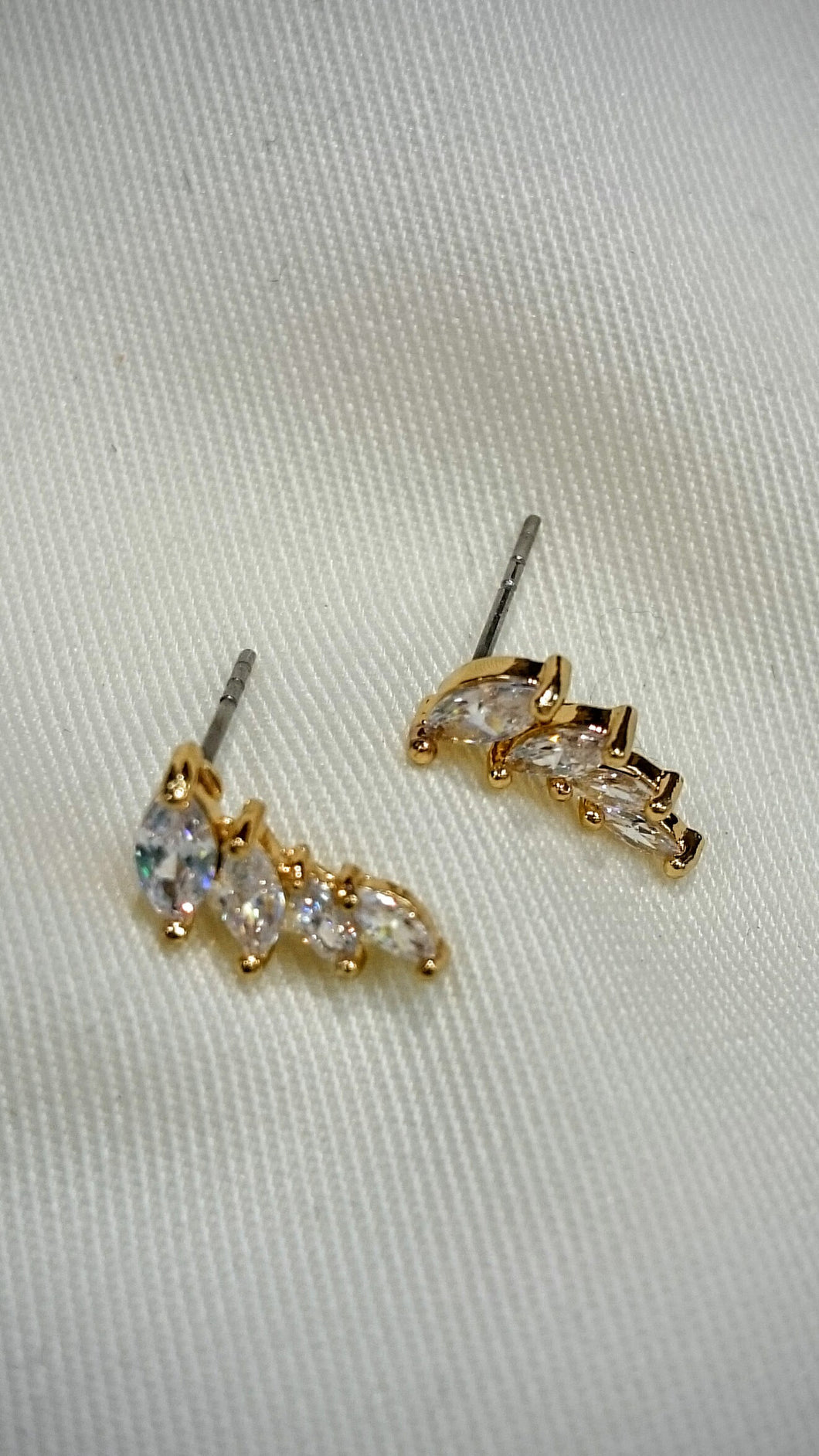 ADO | Crawler Earrings Gold X-Small - All Decd Out