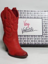 Very Volatile Dallas Cowgirl Boots Red | All Dec'd Out