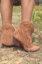Very Volatile Deerwood Fringe Western Bootie | All Dec'd Out