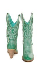 Very Volatile Denver Cowgirl Boot Aqua Blue | All Dec'd out