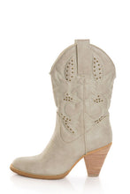 Very Volatile Denver Cowgirl Boots Off White | All Dec'd Out