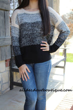 Double Zero | Crochet Striped Pullover Sweater
