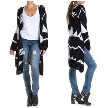 Elan Aztec Print Sweater Cardigan | All Dec'd Out
