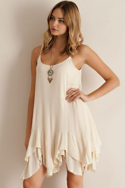 Entro | Slip Dress Taupe