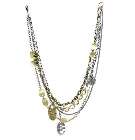 Treska Multi Strand Chain Necklace | All Dec'd Out