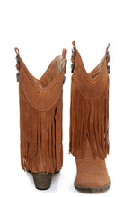 Very Volatile Hillside Fringe Cowgirl Boots Tan | All Dec'd Out