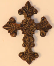 "Decorative Candle Pin | ""Blank"" Medium Cross"