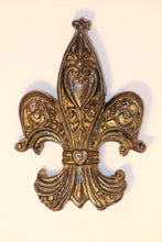 "Decorative Candle Pin | ""Blank"" Large Fleur De Lis - All Decd Out"