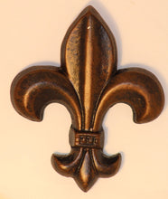 "Decorative Candle Pin | ""Blank"" Medium Fleur De Lis"