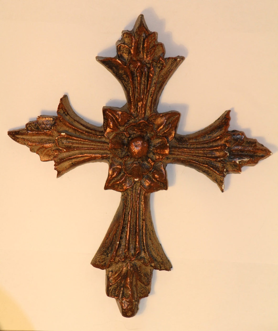 Decorative Candle Pin Extra Large Cross with Flower