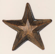 "Decorative Candle Pin | ""Blank"" Large Star"