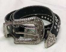 Thin Western Bling Belt